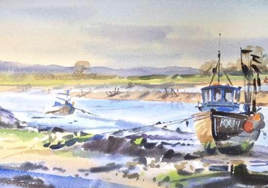Rye Harbour - Watercolour