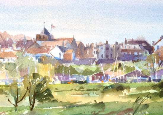 Rye - East Susse - Watercolour