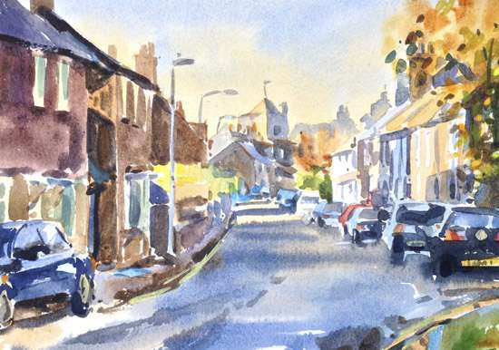 The Snowdrop Lewes - Watercolour