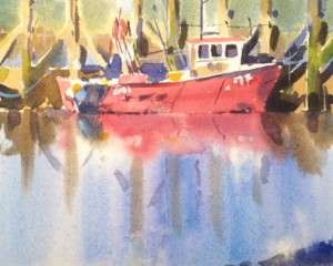 Red Boat – Rye Harbour