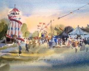 Festival Fairground – Devon