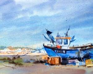 Boats At Aldeburgh Suffolk