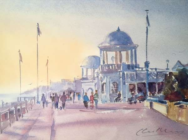 Bexhill Watercolour Painting
