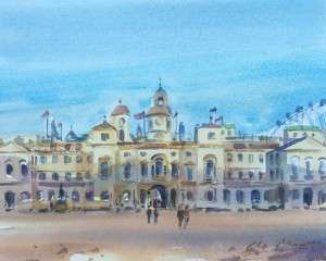 Horse Guards Parade London Watercolour