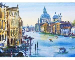 Venice Italy Watercolour