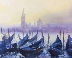 Venice Italy Mist