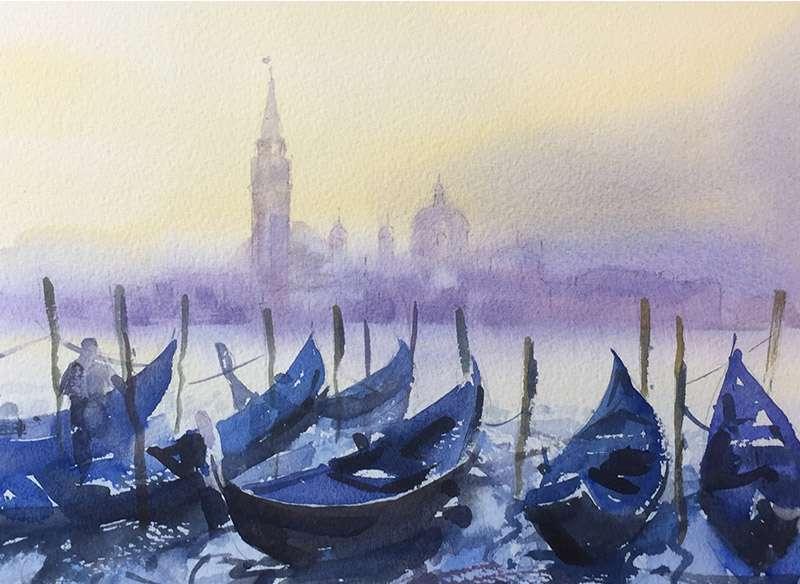 Venice Italy - Watercolour